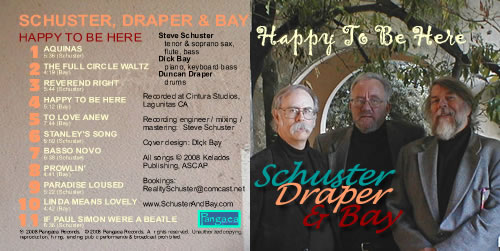Happy to Be Here - Schuster, Draper & Bay CD cover